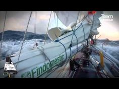 Le Tour du monde d'Alessandro Di Benedetto en mini 6.50 - YouTube
