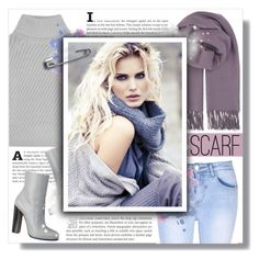 Winter Scarf Style by jessinerio4l on Polyvore featuring polyvore, fashion, style, Iris & Ink, Glamorous, BeckSöndergaard, clothing and scarf