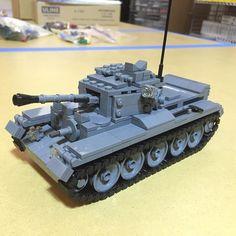 A27M Cromwell Cruiser Tank prototype v.1 #Lego #brickmania by brickmaniatoys