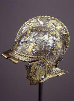 Balaclava / set composed of Balaclava and shield, Italy, ca. 1567