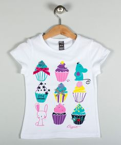 Look at this White Cupcake Tee - Infant, Toddler