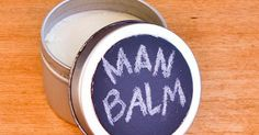 DIY this beauty balm for your guy that can be used as pomade or a dry-skin soother! Beauty Balm, Diy Beauty, Beauty Hacks, Homemade Beauty, Beauty Stuff, Beauty Secrets, Recipe Using Coconut Oil, Diy Lip Balm, How To Exfoliate Skin