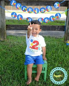 Bouncy Ball BIRTHDAY Personalized Applique by TheSassyGator Ball Theme Birthday, Bouncy Ball Birthday, Ball Birthday Parties, Birthday Fun, Birthday Ideas, Toddler Boy Birthday, Boy First Birthday, Birthdays, Party Ideas