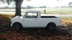 Mini's Answer To The El Camino,  1971 Austin Pickup #mini #chevy