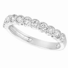 Jewelry Point - 0.55ct Bezel-Set Diamond Anniversary Ring Wedding Band, $795.00 (http://www.jewelrypoint.com/0-55ct-bezel-set-diamond-anniversary-ring-wedding-band/)