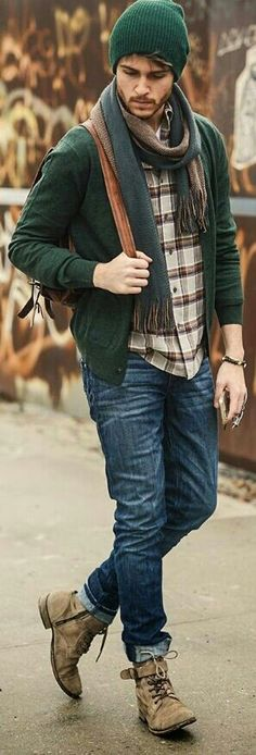 Perfect casual look for fall