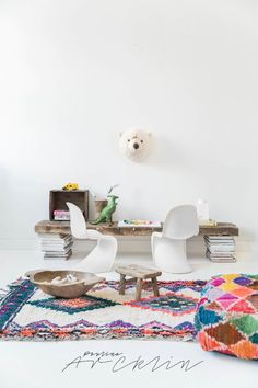 MY STYLING PHOTOSHOOT FOR EL RAMLA HAMRA - CARPETS & POUFS FOR KIDS