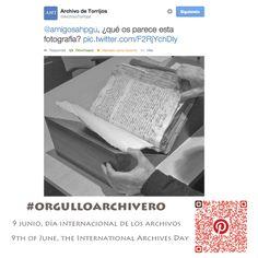 #orgulloarchivero #IAD14  9 Junio, Día Internacional de los #Archivos. Archivo de la imagen (June 9th, International Archives Day) Archivo de Torrijos