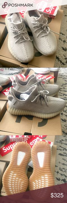 750eb58bf Yeezy boost 350 Sesame Brand new authentic adidas yeezy boost 350 size 5  US. Be