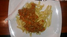 Beef mucho french fries