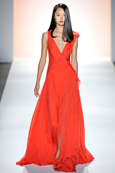 Toya's Tales: What Will Catch My Eye?: Toya's Tales Spring 2012 Ready to Wear: Highlights from the Jenny Packham Show