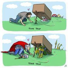 Thor trap by Loki