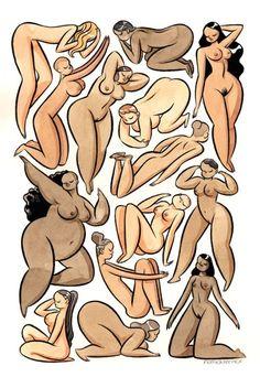 Moon Girls Club: Pequena compilação de informações sobre o corpo feminino.