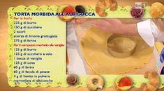 Dolci dopo il tiggì: Torta morbida di albicocca di Mario Ragona del 16 aprile 2015