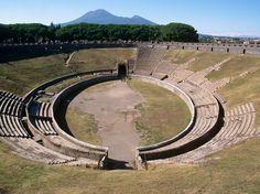 Amphitheatre of Pompeii- 70 BC.