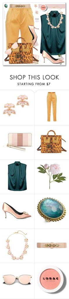 """""""Alfresco Dining"""" by nantucketteabook ❤ liked on Polyvore featuring Kate Spade, Sandra Mansour, MICHAEL Michael Kors, Sophie Hulme, Lanvin, Pier 1 Imports, Nicholas Kirkwood, Stephen Dweck, Dorothy Perkins and LORAC"""