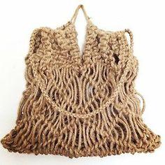 Macrame Market Bag by Kkibo