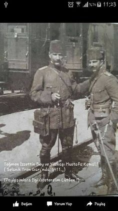 Turkish Soldiers, Turkish Army, The Legend Of Heroes, War Photography, Thessaloniki, War Dogs, Great Leaders, Historical Pictures, Vintage Photographs