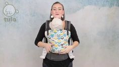Baby Tula Front Carry Baby Carrier Video Instructions - How to front carry in your Tula Baby Carrier or Baby Tula Toddler Carrier