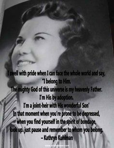 Here are 10 of the greatest Kathryn Kuhlman quotes. Each one has a historical photo that goes along with it.