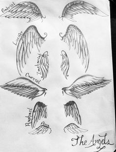 Wings of Supernatural. I am OBSESSED over Supernatural - especially Castiel…
