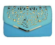 Little Wings Factory - Faye Blue Tone  Clutch Bag, £22.00
