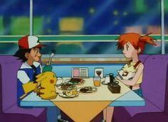 Pokeshipping Pokemon Ash And Misty, Ash Pokemon, Pokemon Pins, Pokemon Stuff, Pikachu, Pokemon Indigo League, Pokemon People, Original Pokemon, Ash Ketchum