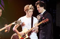 Niall and Harry There's so much Narry I can't take it