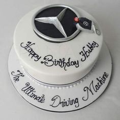 Cars Cake For Men Mercedes 16 Ideas <br> Birthday Cakes For Men, Car Cakes For Men, Cakes For Boys, Mercedes Torte, Cake Design For Men, Rodjendanske Torte, Pirate Ship Cakes, Dad Cake, Nutella Cake