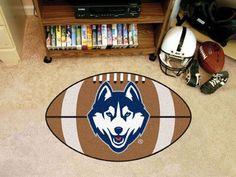 """Connecticut Football Rug 20.5""""x32.5"""""""