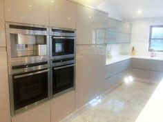 The perfect four oven combo! #Corian #kitchen refurb