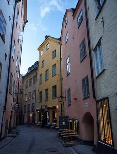 It's impossible to come to Stockholm and not visit the Old Town, as it is sandwiched on one of the main islands of central Stockholm
