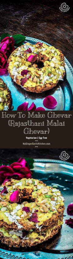 how to make ghevar jaipuri malai ghevar
