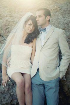 #Short wedding dress ... Wedding ideas for brides & bridesmaids, grooms & groomsmen, parents & planners ... https://itunes.apple.com/us/app/the-gold-wedding-planner/id498112599?ls=1=8 … plus how to organise an entire wedding, without overspending ♥ The Gold Wedding Planner iPhone App ♥