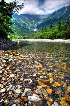 Kamikouchi is a river system in the Japan Alps about 1.5 hours bus trip out from Matsumoto, Nagano-ken, Japan.