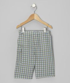 Take a look at this Twilight Plaid Shorts - Infant, Toddler & Boys by KicKee Pants on #zulily today!