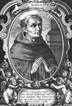 Saint Robert of Molesme 1028 17 April 1111 was an abbot one of the founders of the Cistercian Order and is honored as a Christian saint Robert of molesm Saint Robert, Mona Lisa, Vintage World Maps, Tapestry, Christian, Artwork, Painting, Norfolk, Lieutenant General