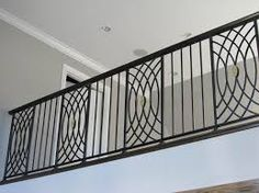Image result for wrought iron railings Grill Gate Design, Balcony Grill Design, Steel Gate Design, Balcony Railing Design, Wrought Iron Staircase, Staircase Handrail, Staircase Design, Steel Railing, Iron Balusters