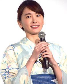 新垣結衣 Aragaki Yui, Yukata, Kimono, Japanese, Actresses, Portrait, My Style, People, Ideas