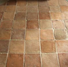 Antique Terra Cotta Tiles perfect with radiant floor heat