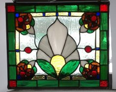 """""""Victorian"""". Artist: Randy Parsons. """"Just For Fun Contest"""" 2014 entry in Cold Glass category. Stained Glass Express, Waterville Maine."""