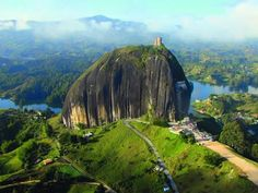 The Guatape Rock in Colombia