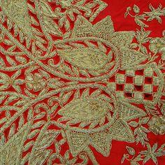 Vintage Art Silk Fabric artisanat par queensclub, $24.99/ Etsy