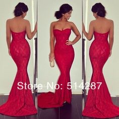 Beautiful Prom Dress, red prom dresses lace evening dress mermaid prom dress sweetheart prom dress charming prom gown sexy prom dress modest evening gowns for teens Meet Dresses Red Lace Prom Dress, Mermaid Prom Dresses Lace, Strapless Prom Dresses, Sweetheart Prom Dress, Cheap Prom Dresses, Sexy Dresses, Mermaid Sweetheart, Dress Red, Party Dresses