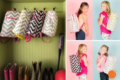 Send your child to school or on vacation in style with one of these adorable children's backpacks! Pick your favorite at pickyourplum.com during our Back to School Event!