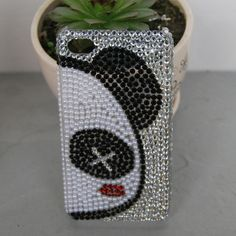 iphone case iphone cases  Silver, Black, White, Red Panda