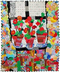 Patchwork Collage ~ Freddy Moran Style