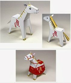 [new year 2014] year of the horse. I will have to include this in my New Year's party