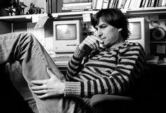 Steve Jobs Photos from 1984 by Norman Seeff