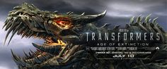 Transformers: Age Of Extinction Grimlock Banner - Cosmic Book News